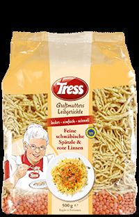 Tress Großmutters Leibgerichte Linsen Mit Spätzle Tress