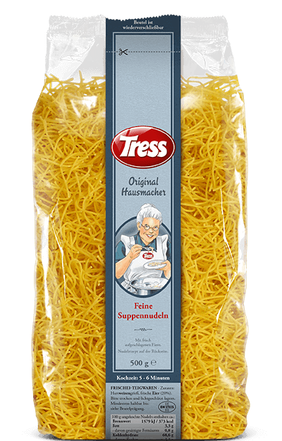 Tress Original Hausmacher Feine Suppennudeln 500 g