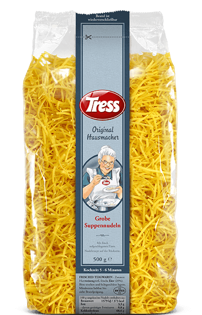 Tress Original Hausmacher Grobe Suppennudeln 500 g